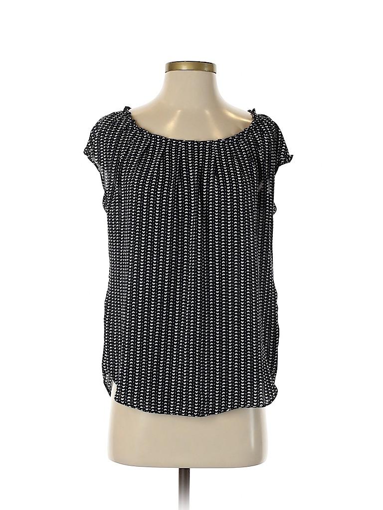 LC Lauren Conrad Women Short Sleeve Blouse Size S