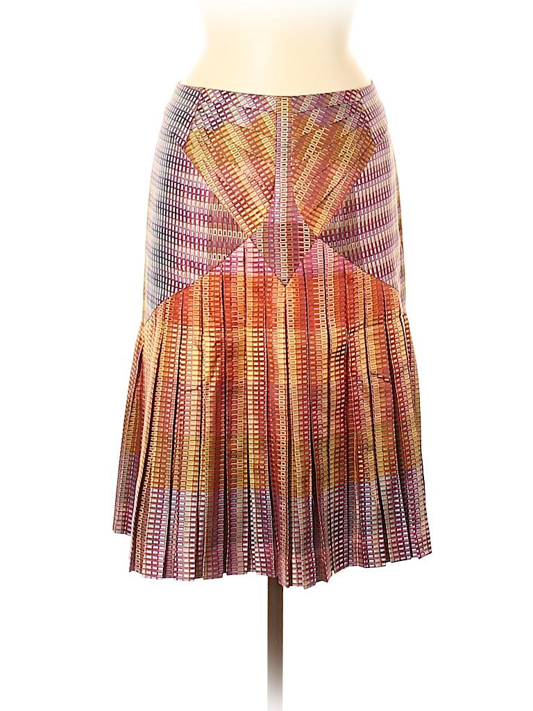 Zac Posen Women Silk Skirt Size 6