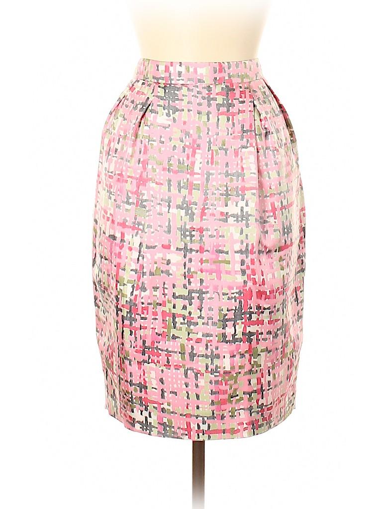 Yves Saint Laurent Women Silk Skirt Size 42 (FR)