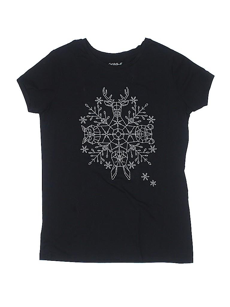 Cat & Jack Girls Short Sleeve T-Shirt Size 14 - 16