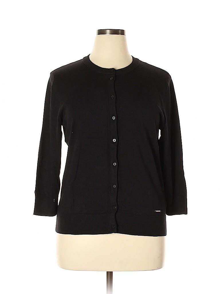 Ellen Tracy Women Cardigan Size XL