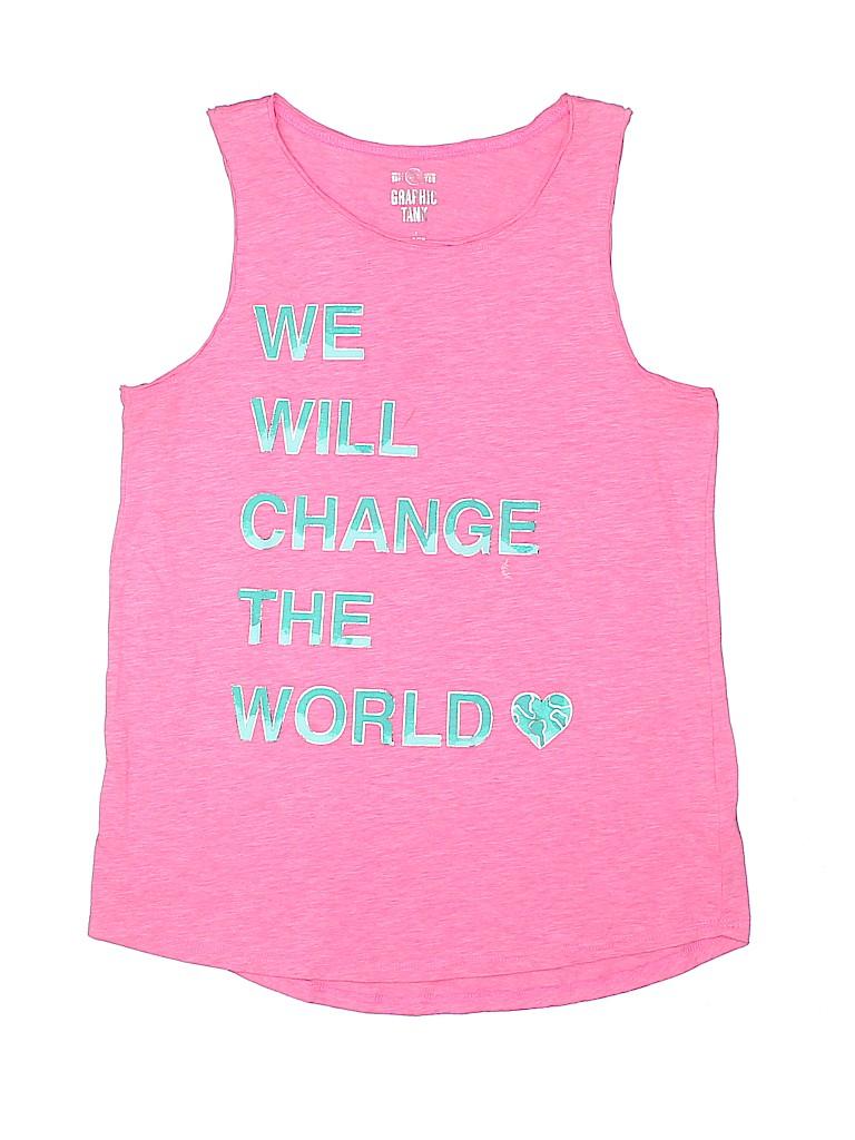 SO Girls Sleeveless T-Shirt Size 14