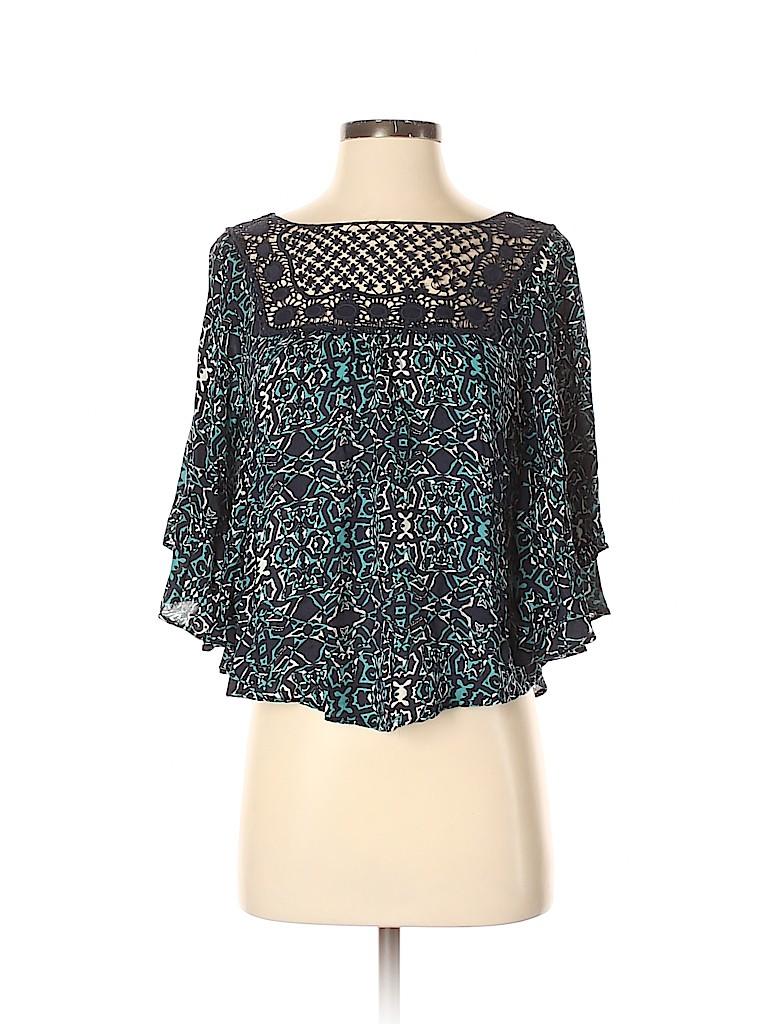 Aeropostale Women 3/4 Sleeve Blouse Size XS