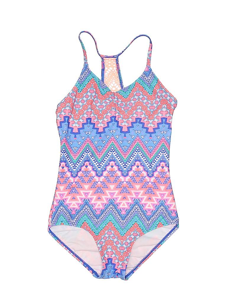 Summer Girls One Piece Swimsuit Size 10