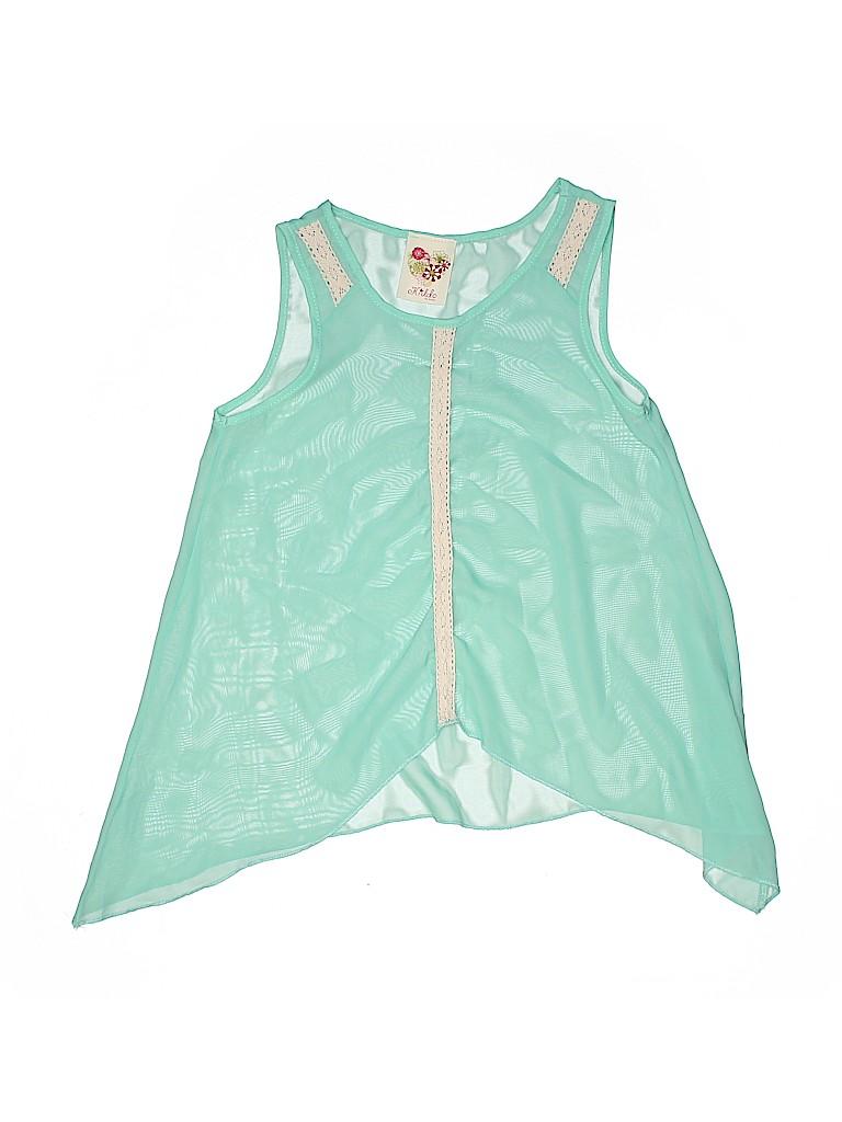Kiddo by Katie Girls Sleeveless Blouse Size 10