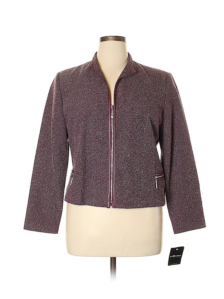 Sag Harbor Women Jacket Size 14 (Petite)