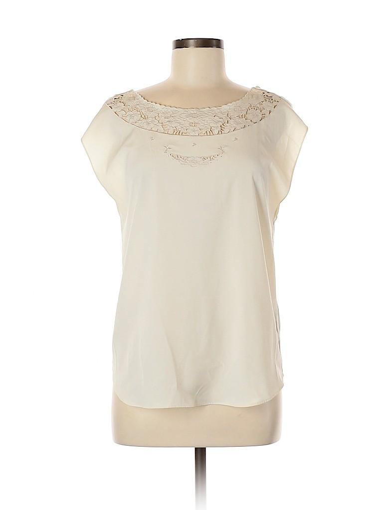 LC Lauren Conrad Women Short Sleeve Blouse Size M
