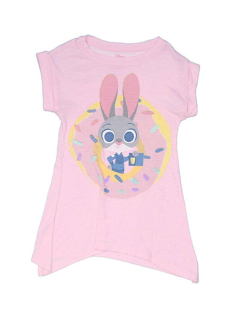Disney Girls Short Sleeve T-Shirt Size 4 - 5