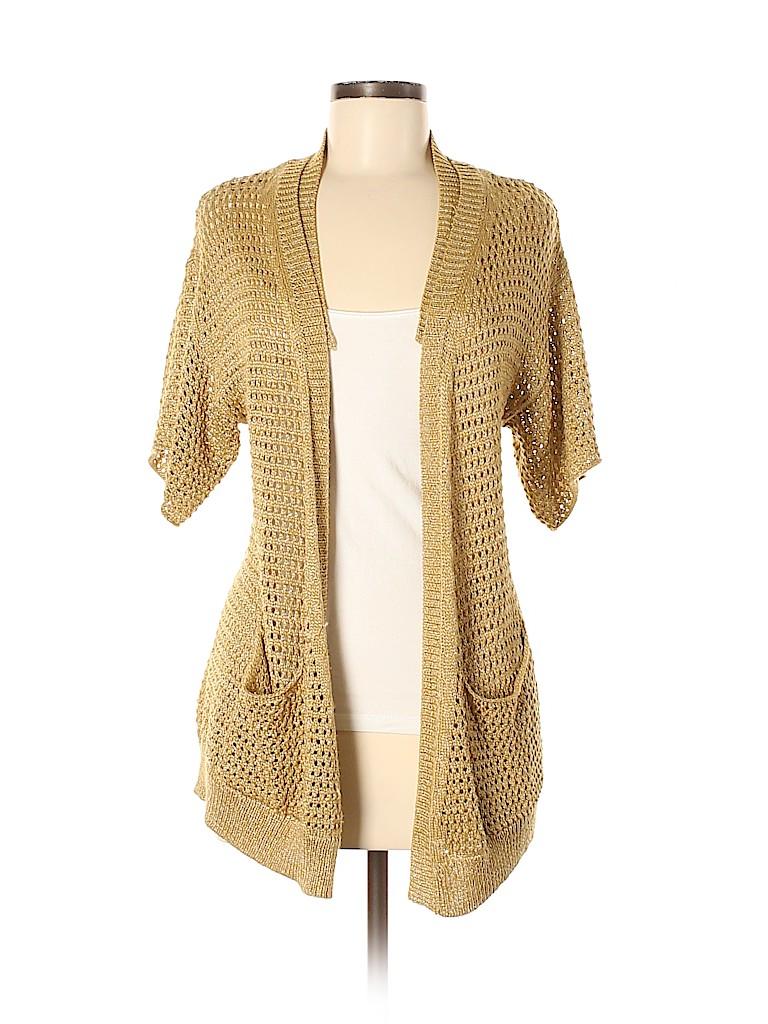 MICHAEL Michael Kors Women Cardigan Size M (Petite)