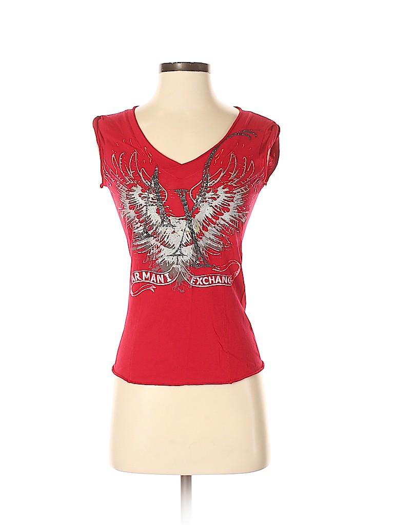 Armani Exchange Women Sleeveless T-Shirt Size S