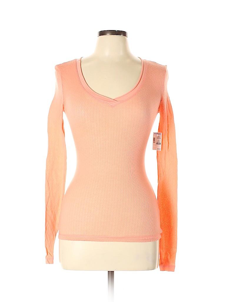 Aeropostale Women Long Sleeve T-Shirt Size L