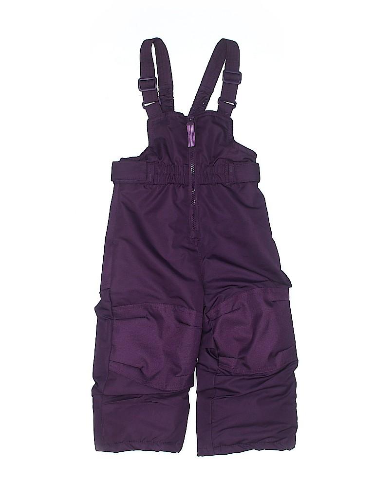 Cherokee Girls Snow Pants With Bib Size 12 mo