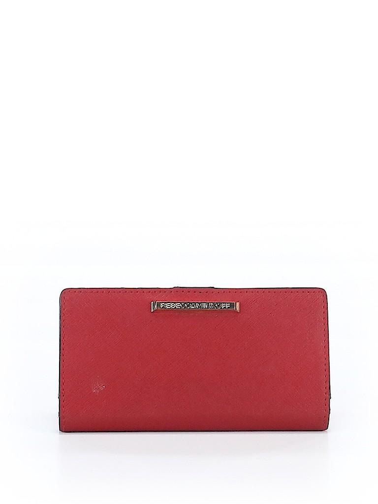 Rebecca Minkoff Women Leather Wallet One Size