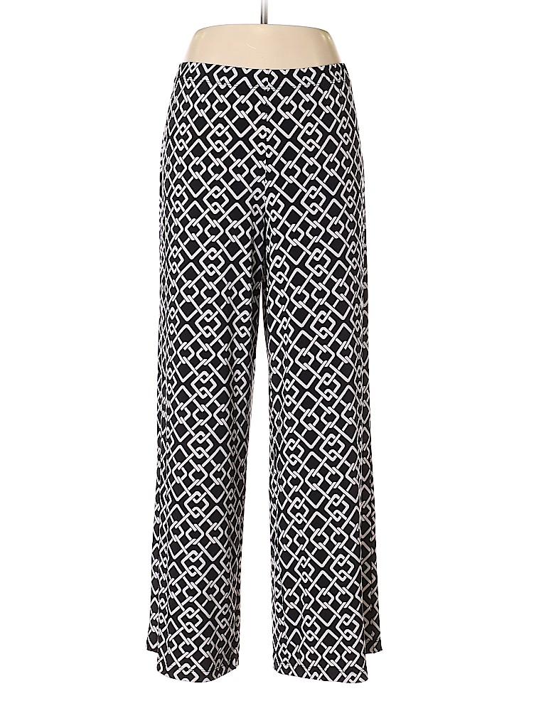 Susan Graver Women Casual Pants Size L