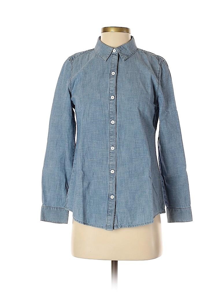 J.jill Women Long Sleeve Button-Down Shirt Size XS