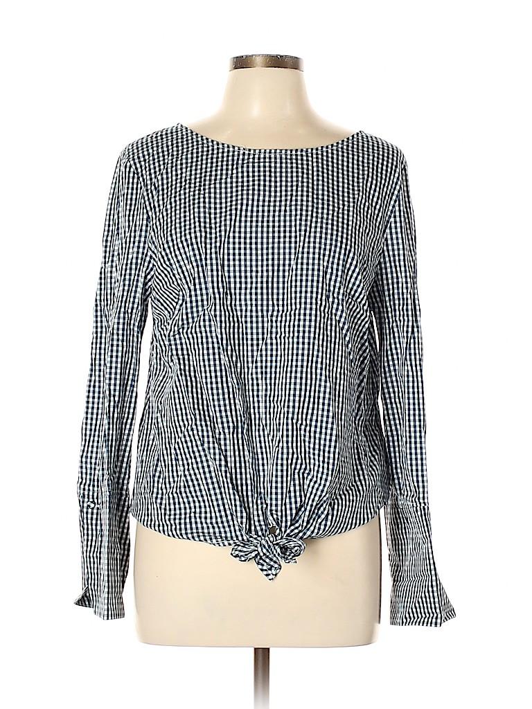 Max Jeans Women Long Sleeve Blouse Size L