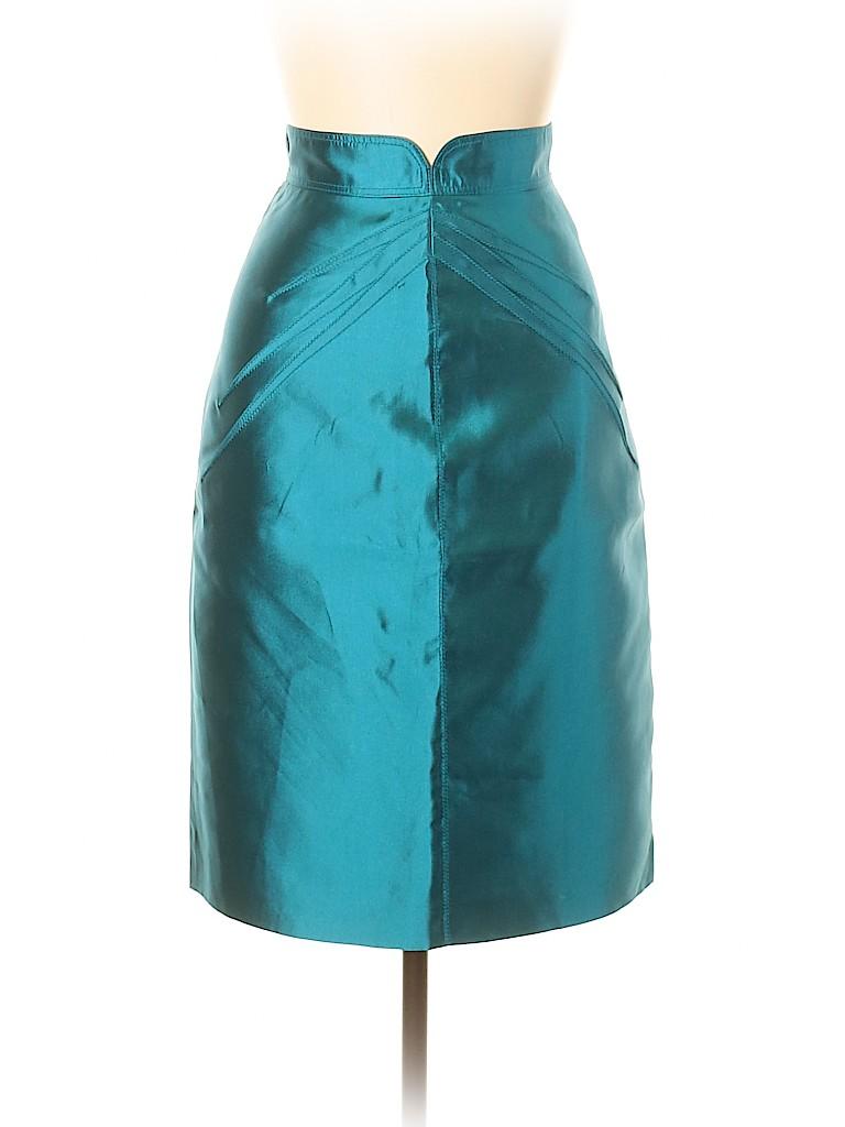 Zac Posen Women Silk Skirt Size 10