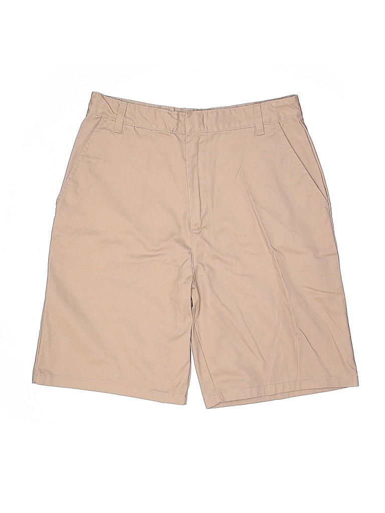 Genuine School Uniform Boys Khaki Shorts Size 20