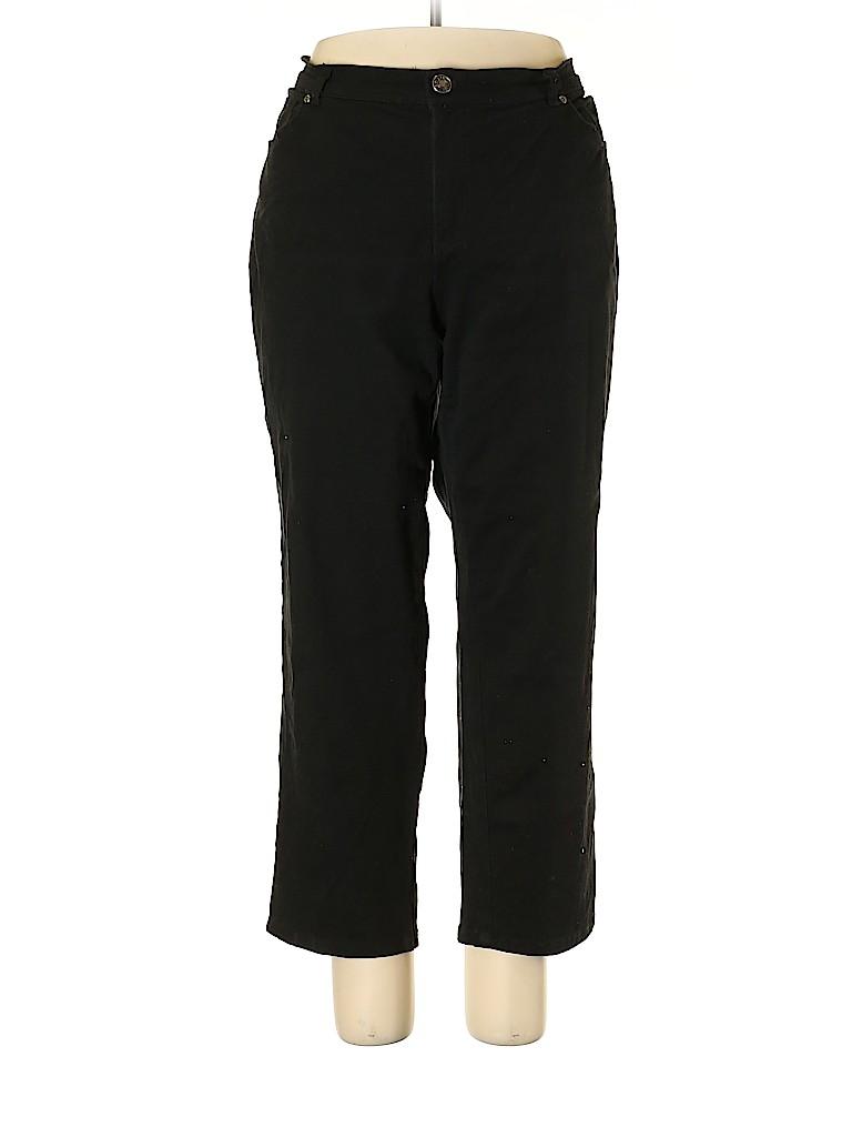 Basic Editions Women Jeans Size 18 (Plus)