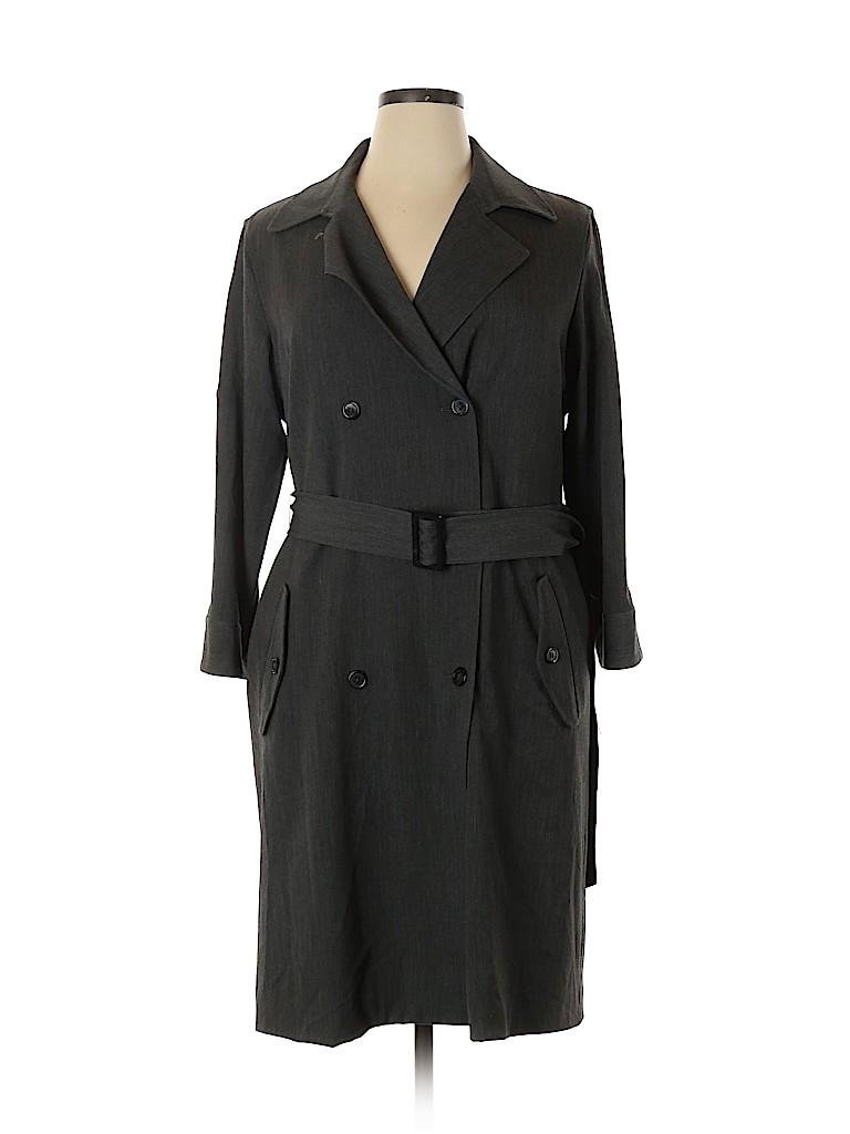American Living Women Trenchcoat Size 16