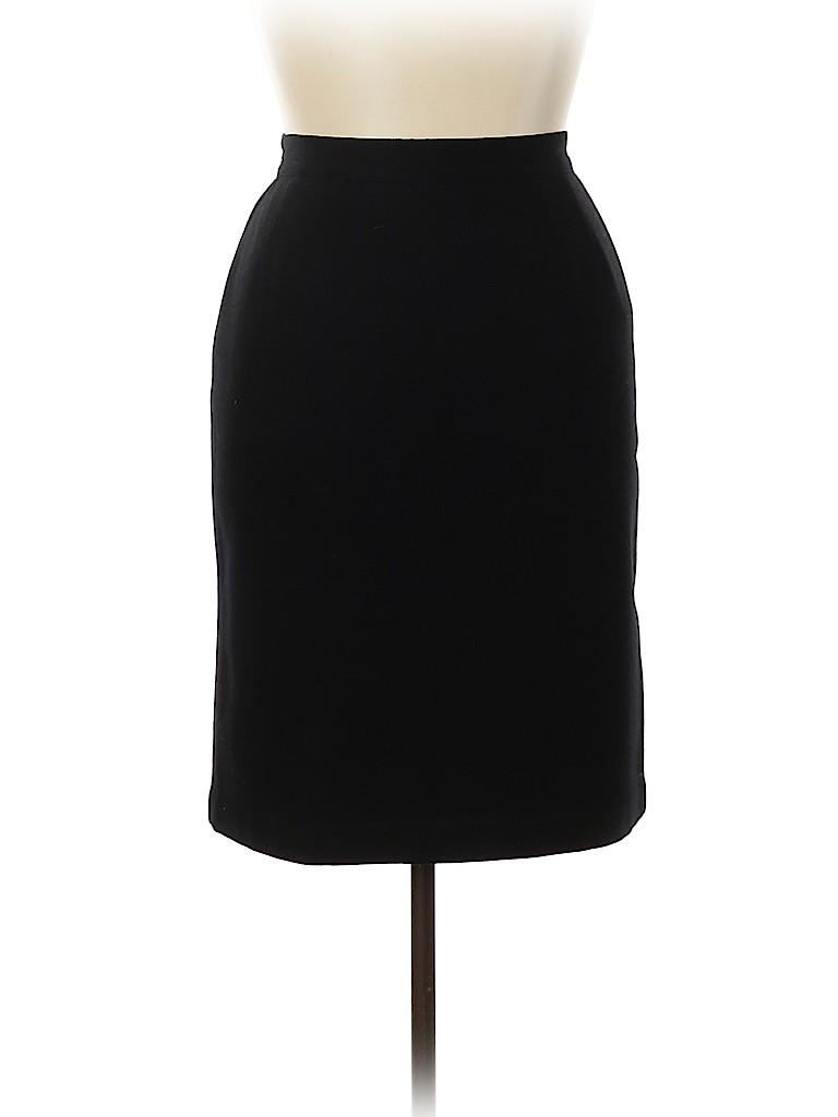 Sag Harbor Women Wool Skirt Size 14 (Petite)
