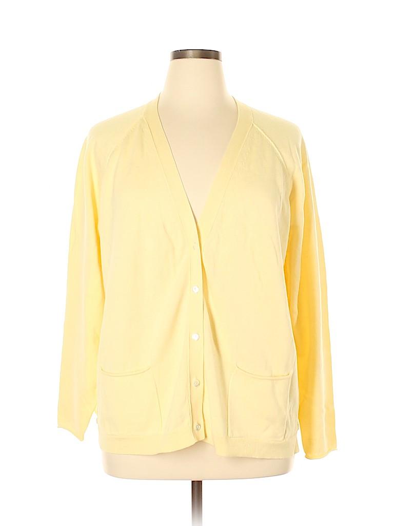 J.jill Women Cardigan Size XL