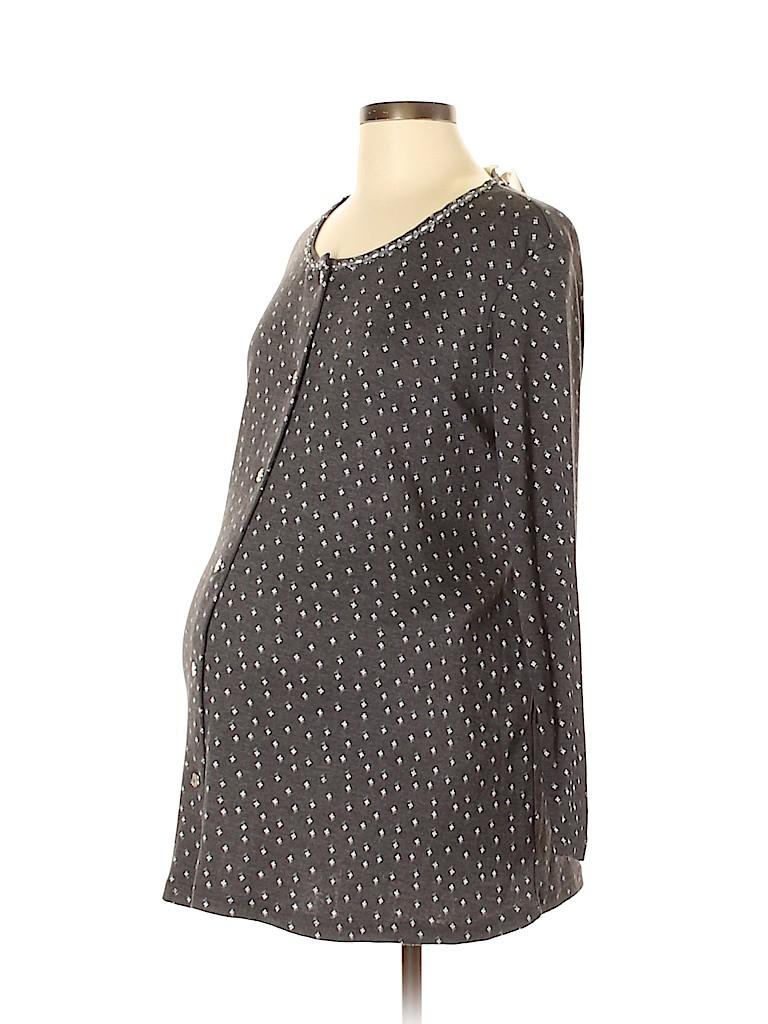 New Additions Maternity Women Cardigan Size L (Maternity)