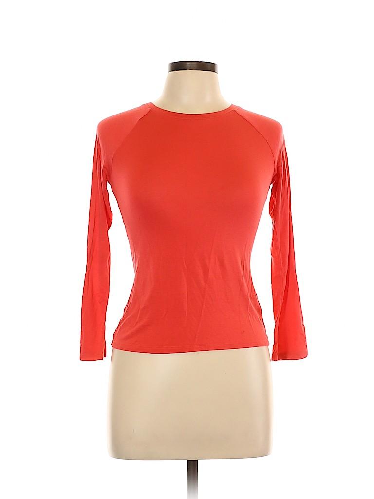 Falls Creek Women Long Sleeve T-Shirt Size L