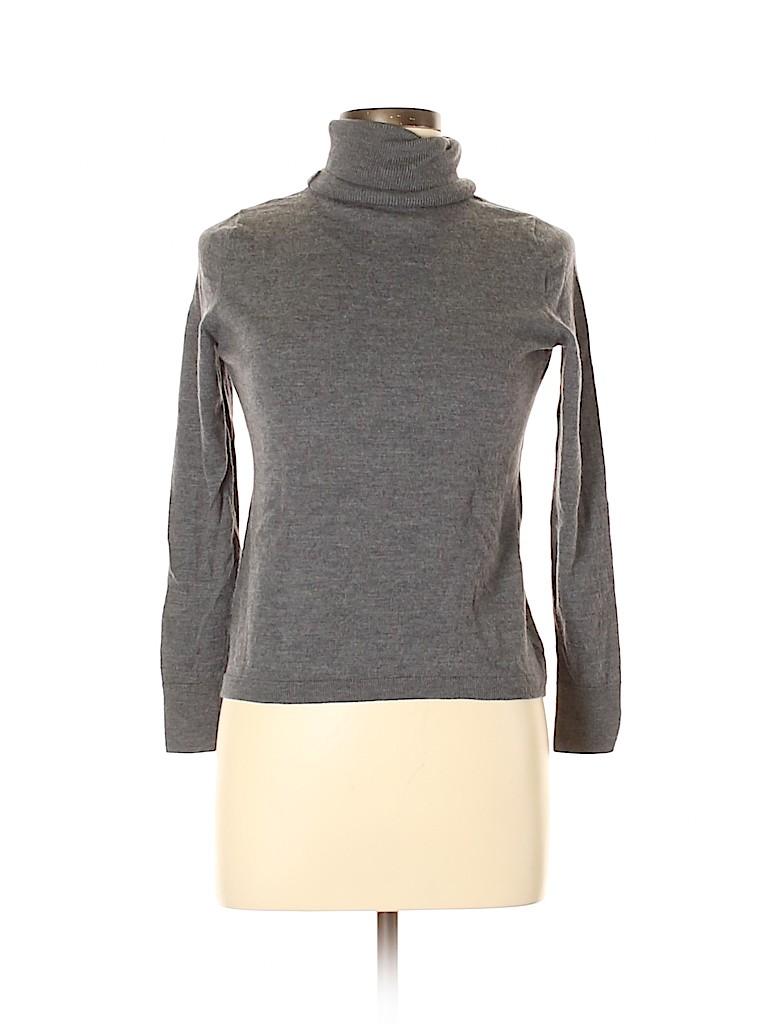 Talbots Women Wool Pullover Sweater Size L (Petite)