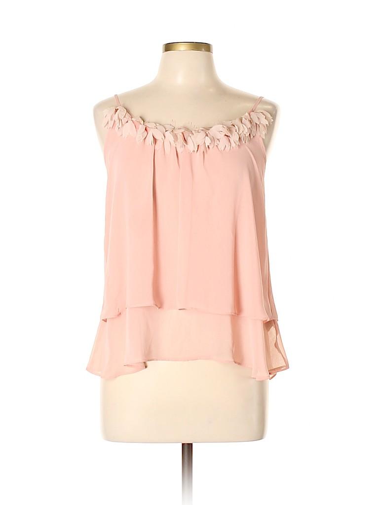 LC Lauren Conrad Women Sleeveless Blouse Size M