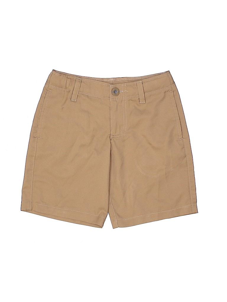 Under Armour Boys Khaki Shorts Size X-Small (Youth)