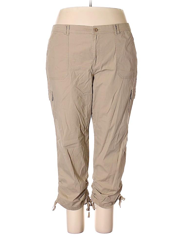 Gloria Vanderbilt Women Cargo Pants Size 18 (Plus)