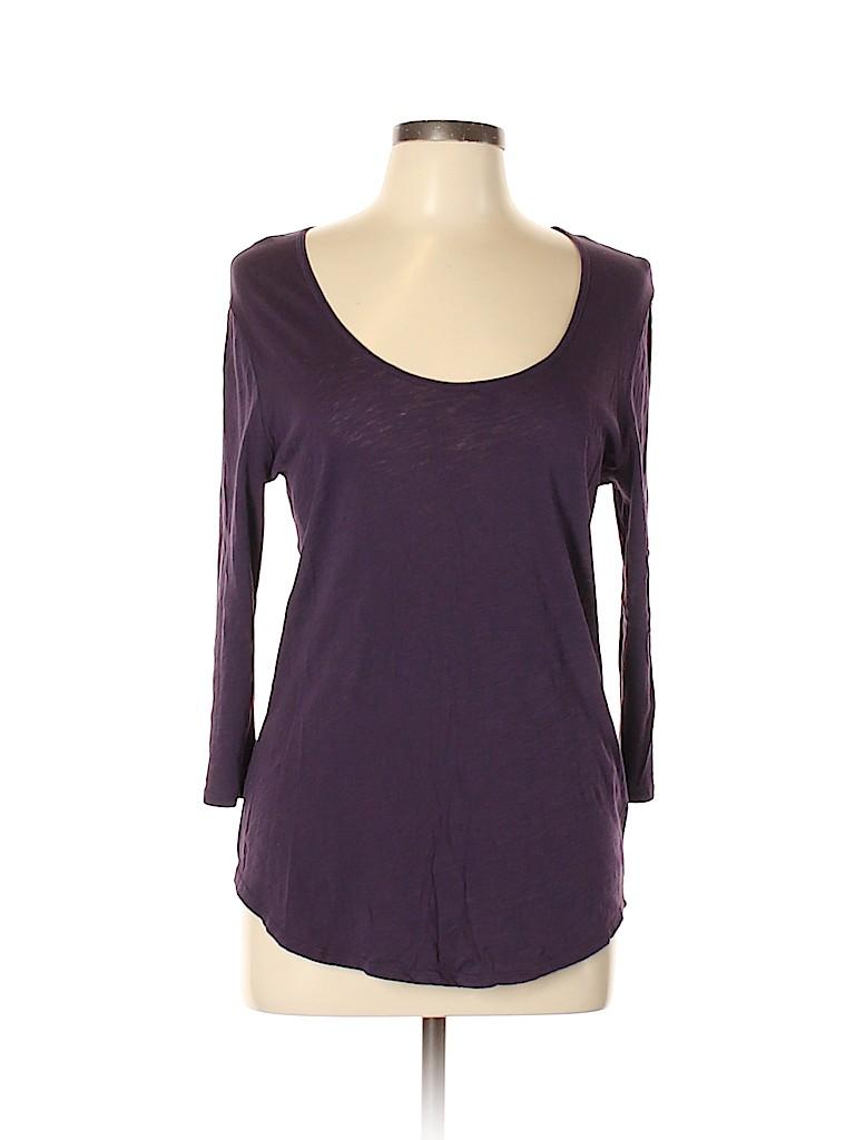 CALVIN KLEIN JEANS Women 3/4 Sleeve T-Shirt Size L