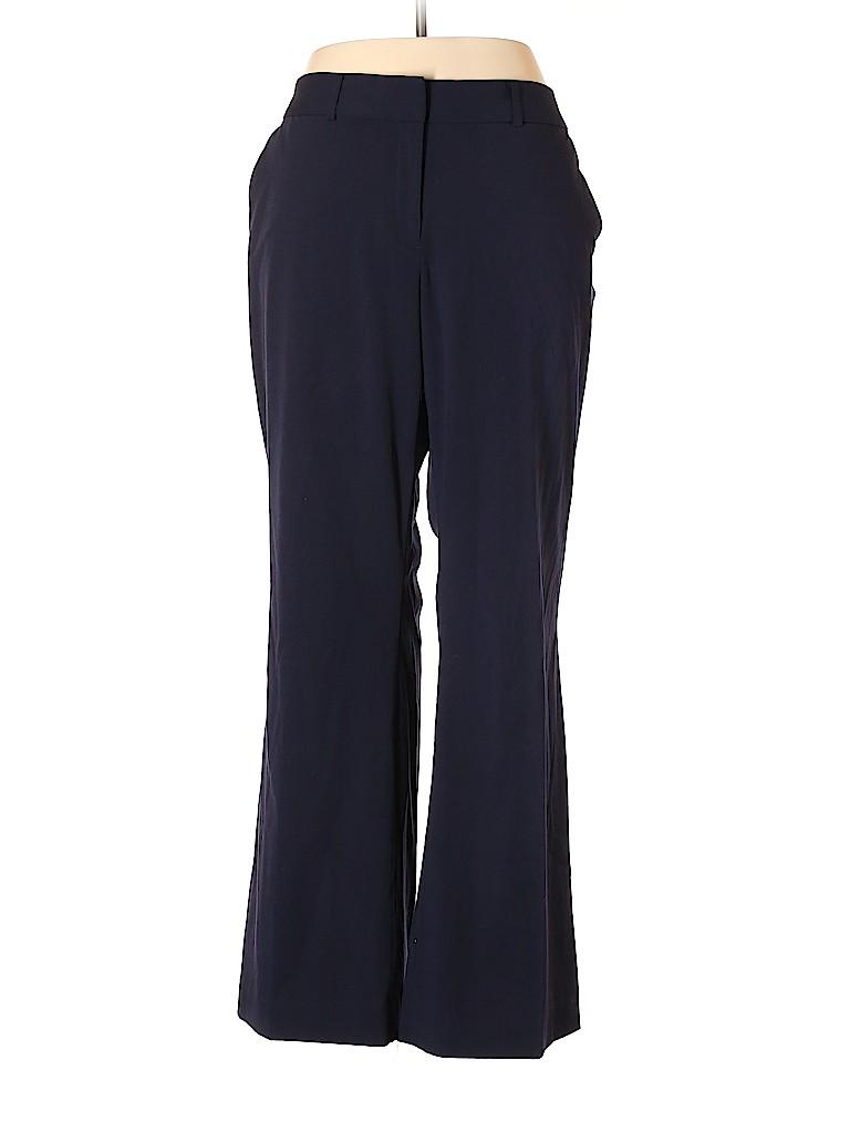 Liz Claiborne Women Dress Pants Size 18 (Plus)
