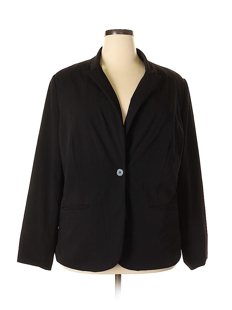 Liz Claiborne Women Blazer Size 22 (Plus)