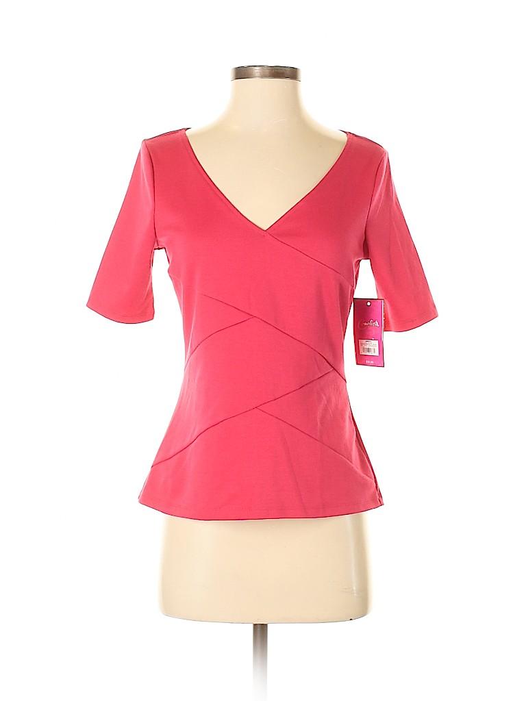 Candie's Women Short Sleeve Top Size M