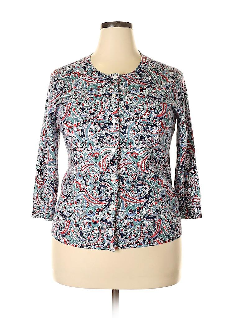 Talbots Outlet Women Cardigan Size XL