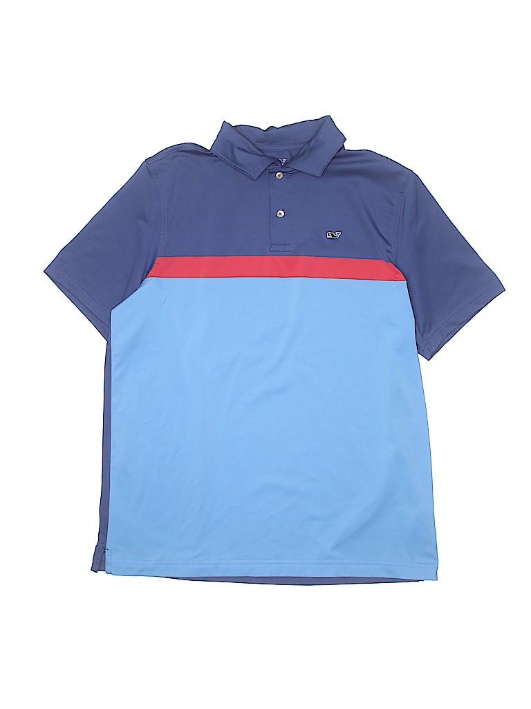 Vineyard Vines Boys Short Sleeve Polo Size X-Large (Youth)