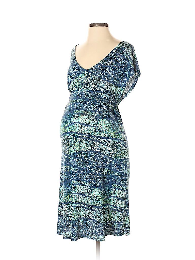 Liz Lange Maternity Women Casual Dress Size S (Maternity)