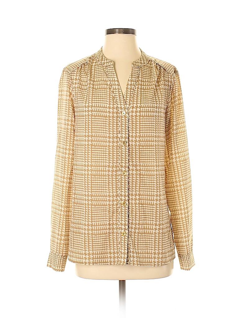 Jones New York Collection Women Long Sleeve Blouse Size 8