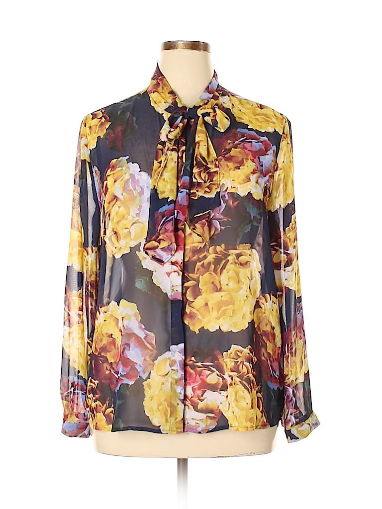 Liz Claiborne Women Long Sleeve Blouse Size XL