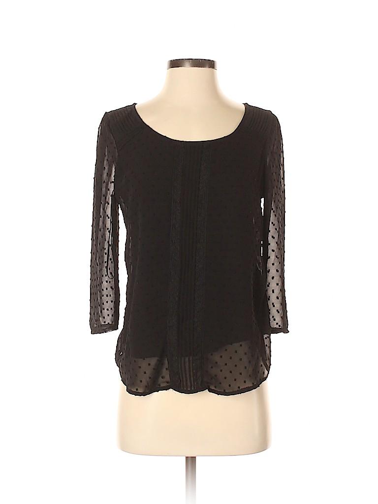 LC Lauren Conrad Women 3/4 Sleeve Top Size S