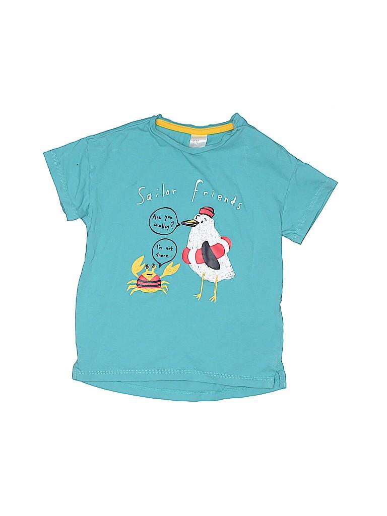 H&M Girls Short Sleeve T-Shirt Size 12-18 mo