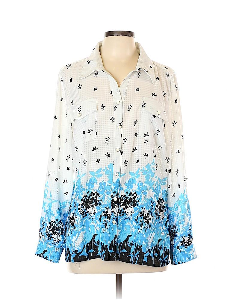 Elementz Women Long Sleeve Blouse Size XL