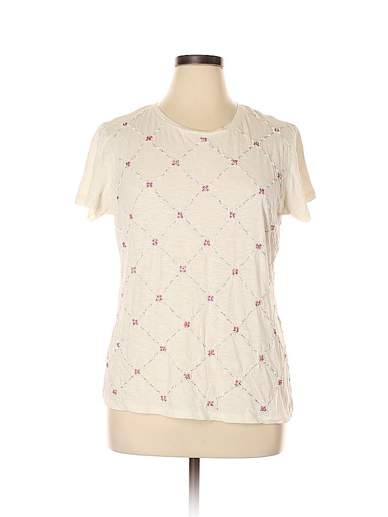 G.H. Bass & Co. Women Short Sleeve T-Shirt Size XXL