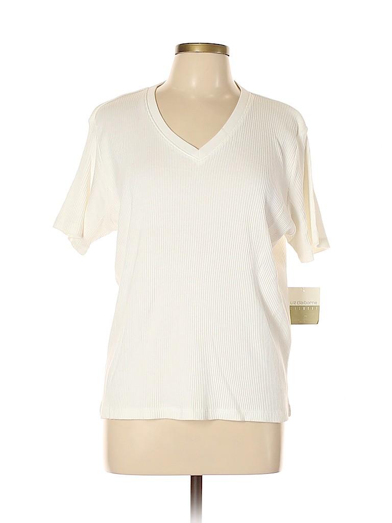 Liz Claiborne Women Pullover Sweater Size L