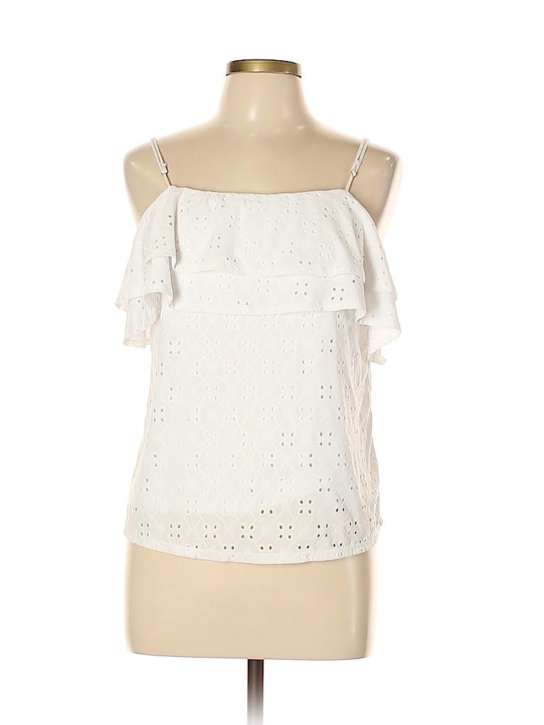 Harlowe & Graham Women Sleeveless Top Size L