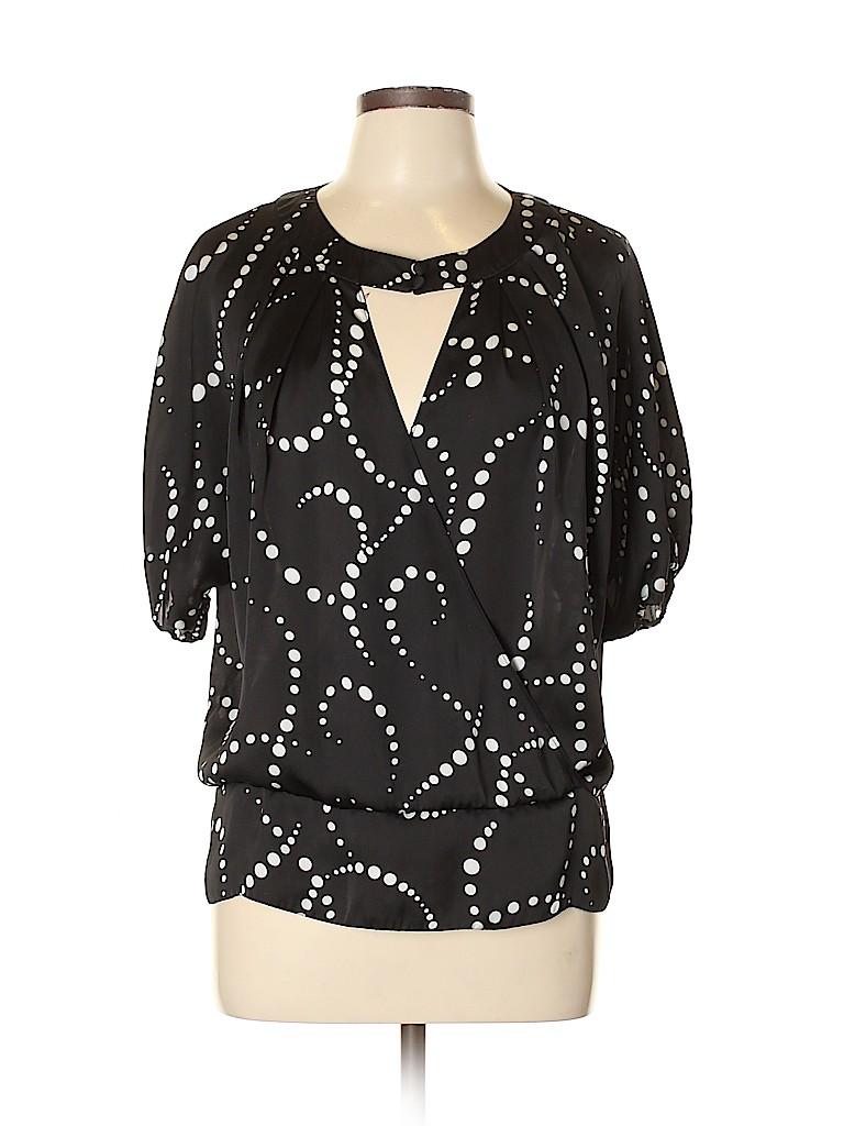 Spense Women Short Sleeve Blouse Size L