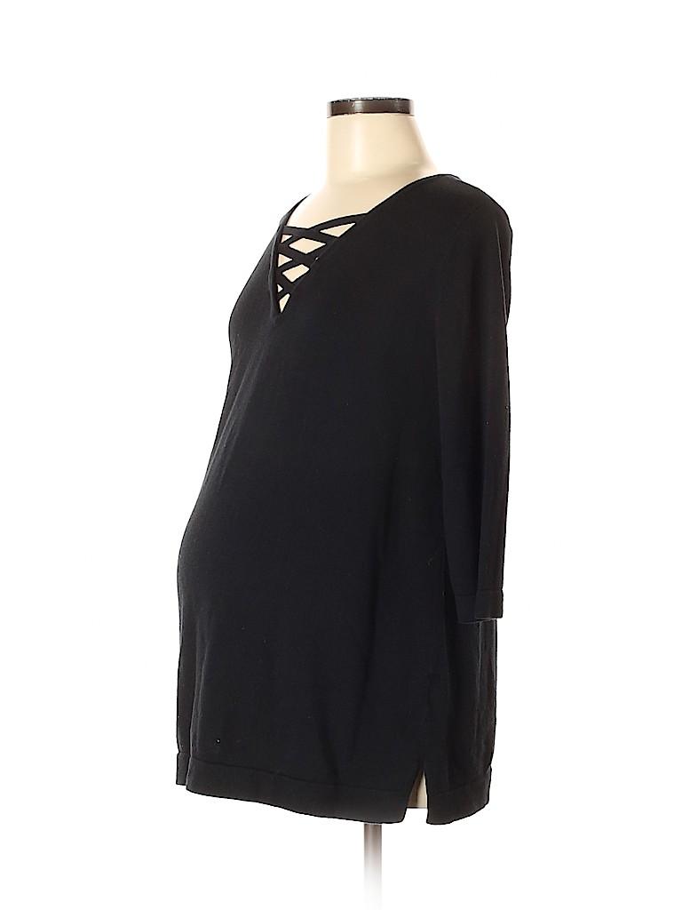 Noir Women Pullover Sweater Size M (Maternity)