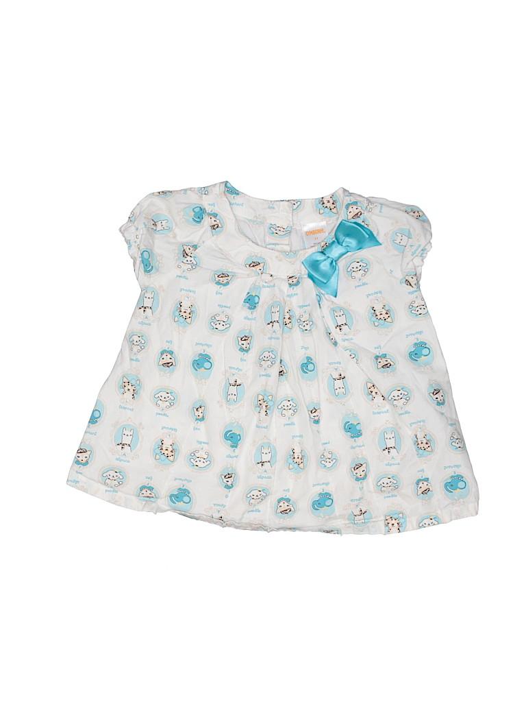 Gymboree Girls Short Sleeve Blouse Size 2T
